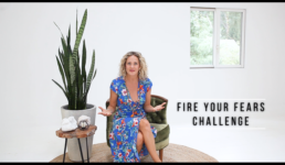 Bailey Frumen with the Fire Your Fears Challenge